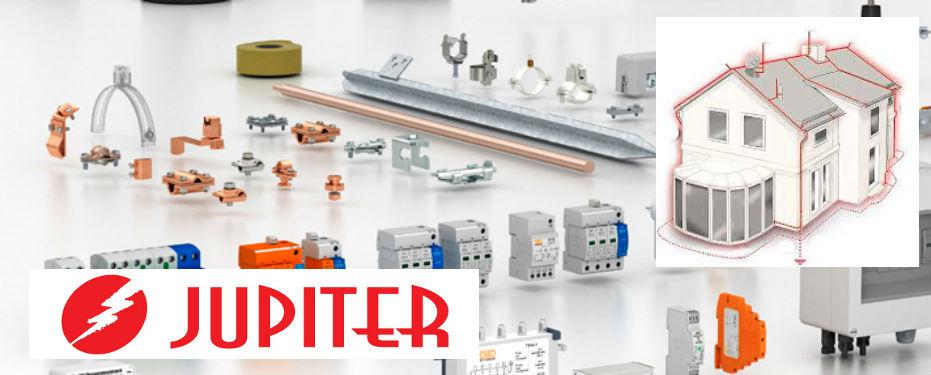 Система молниезащиты и заземления JUPITER