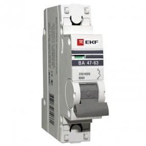 Выключатель автоматический 6 ка EKF