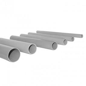 трубы гладкие жесткого типа ПВХ