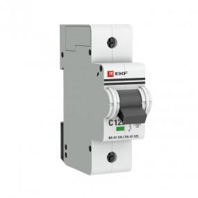 Автоматические выключатели ВА 47-125 EKF PROxima