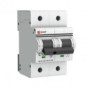 Автоматические выключатели ВА 47-125 EKF PROxima 2P