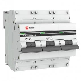 ВА 47 100 EKF PROxima автоматический выключатель (3P)
