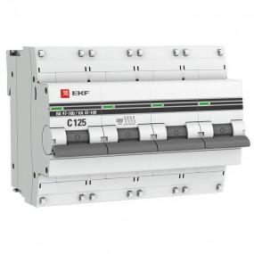 ВА 47 100 EKF PROxima автоматический выключатель (4P)
