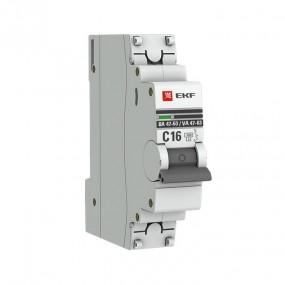 ВА47 63 4,5 кА EKF PROxima выключатели автоматические