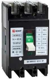 Автоматический выключатель ekf Basic