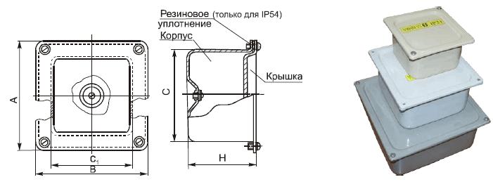 Коробка протяжная У994 У995 У996