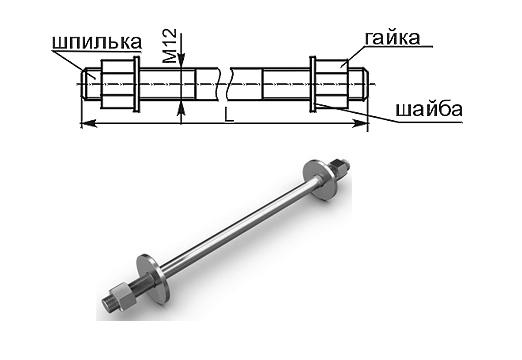 К122 К121 Шпильки