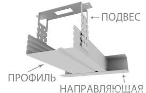 Подвес потолочный СХЕМА
