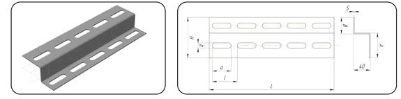 Профиль зетовый К239, К238, К241