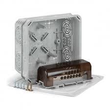 Коробка электромонтажная с клеммником эквипотенциальным KO 125 E/EQ02 KOPOS (КОПОС)