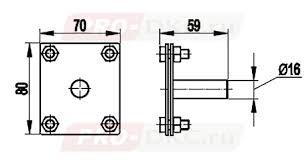 NE1302 Соединитель вертикального заземлителя СХЕМА