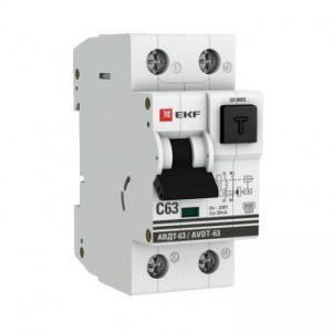 АВДТ 63 дифференциальный автомат