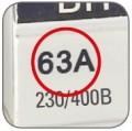 Выключатель нагрузки ВН - 125 EKF PROxima (Номинальный ток выключателя нагрузки.)