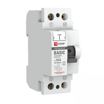 УЗО ВД-100 4P 50А/30мА (электромеханическое) EKF PROxima