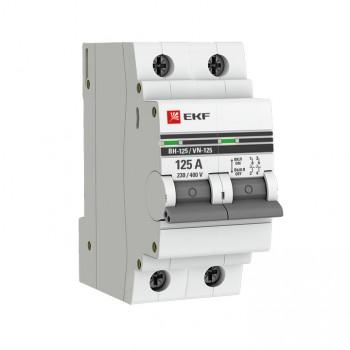 Выключатель нагрузки ВН - 125 EKF PROxima