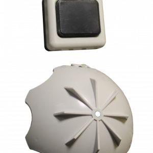 Звонок электрический с кнопкой ЭВ-01