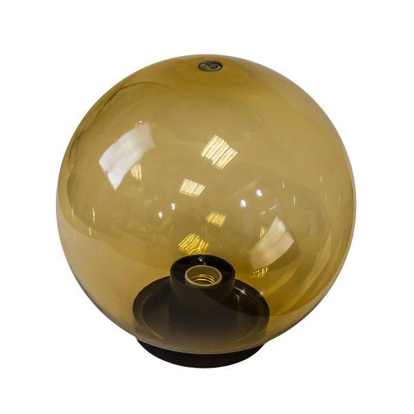 Купить светильник шар НТУ 11-100-353 УХЛ1.1, с гранями золотистый