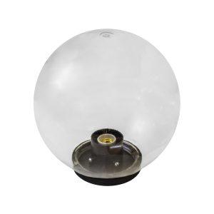 Светильник шар прозрачный НТУ 11-100-352 УХЛ1.1 (с гранями прозрачный)