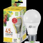Лампа СД LED-A60-STD 5ВТ 230В Е27 3000К 450ЛМ ASD