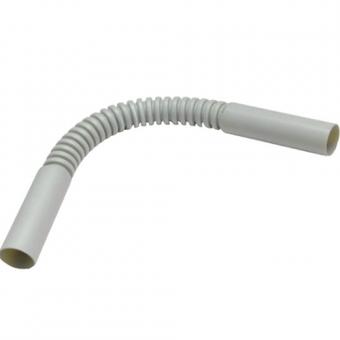 Поворот гибкий гофрированный для труб