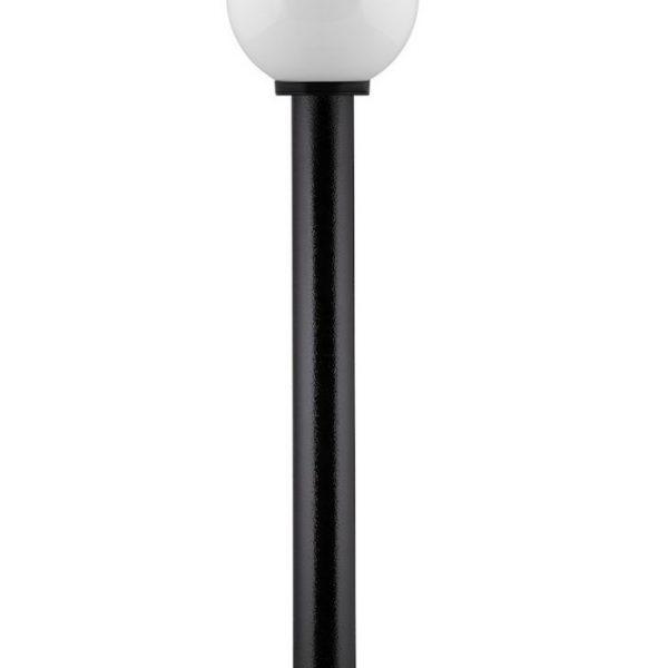 Светильники НТУ шар 11-60-251 УХЛ1.1, с гранями, молочно-белый, с опорой пласт. 0,6м и подставкой FSU2