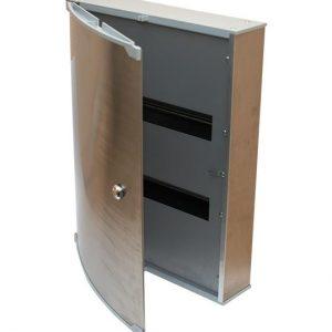 Шкаф электрический навесной ШЭН-48 380х660х125 IP20 (с тремя DIN рейками)