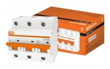 Выключатель ВА47 100 10KA автоматический TDM