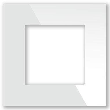Рамка для выключателя стеклянная