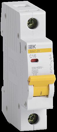 Автоматический выключатель IEK ВА47-29